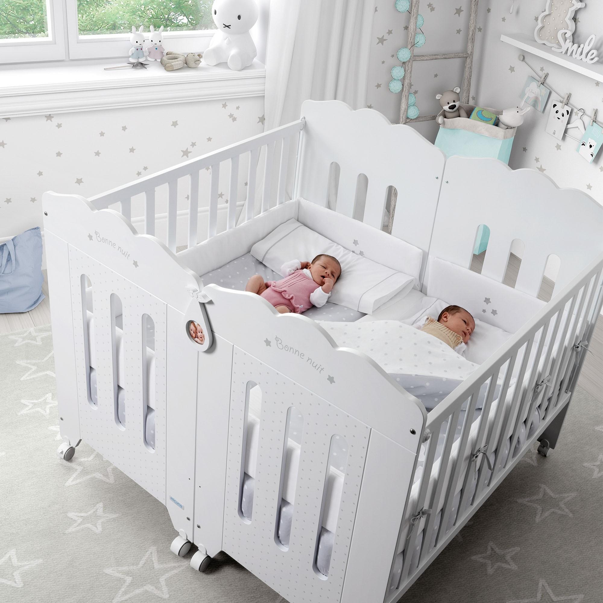 Top 5 las mejores cunas para gemelos ofertas y opiniones - Habitaciones para bebes gemelos ...