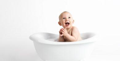 bañera de bebé para ducha